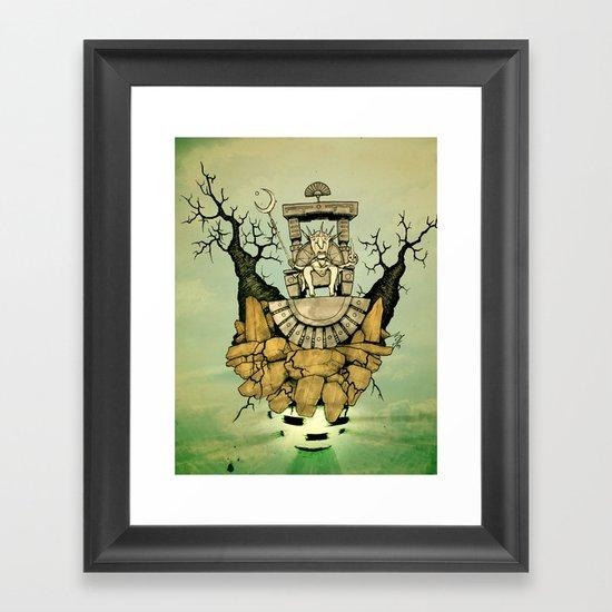 Air Apparent Framed Art Print