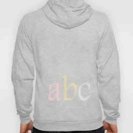 ABC Hoody