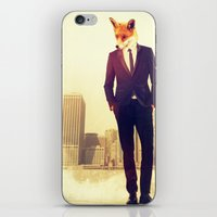 lawyer iPhone & iPod Skins featuring Fantastic by rubbishmonkey