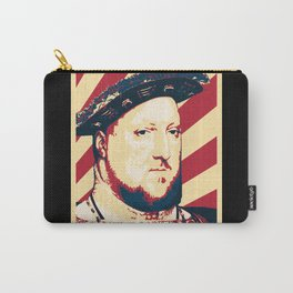 King Henry VIII Of England Retro Propaganda Carry-All Pouch