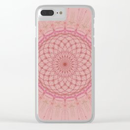 Mandala Jewels Clear iPhone Case
