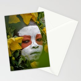 Suri Green Stationery Cards