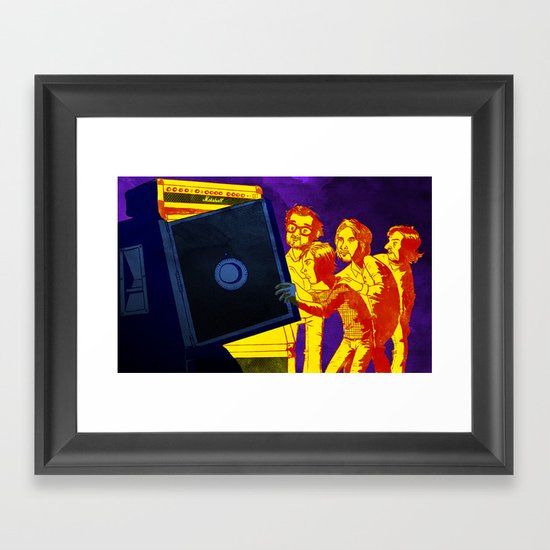 """Bankrupt!"" by Dmitri Jackson Framed Art Print"