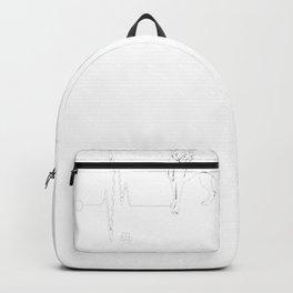 Cane-Corso-tshirt,-i-love-Cane-Corso-heart-beat Backpack