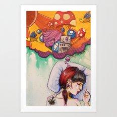 good dreams Art Print
