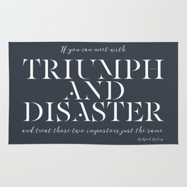 Triumph & Disaster Rug