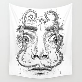 octopus dali Wall Tapestry
