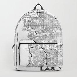 Minimal City Maps - Map Of Las Vegas, Nevada, United States Backpack
