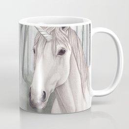 Unicorn Within the Misty Forest Coffee Mug