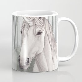 Unicorn Within the Misty Forest Coffee Mug