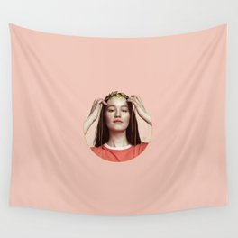 HANDS OF GOLD Wall Tapestry