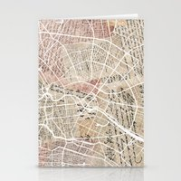 berlin Stationery Cards featuring Berlin by Mapsland