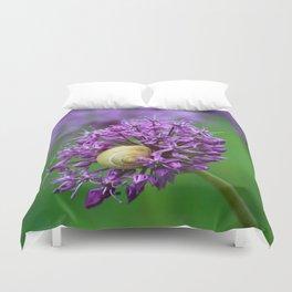 Allium Flower Duvet Cover