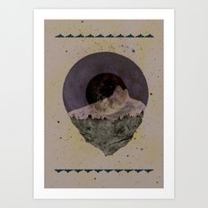 Soulful Gaze Art Print