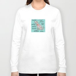 Canine Anatomy Long Sleeve T-shirt