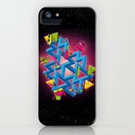The impossible playground iPhone Case