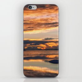 Sunset from the Champalimaud Foundation iPhone Skin