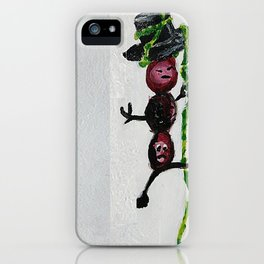 Green Bean iPhone Case