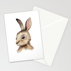 Pensive Easter Bunny  Stationery Cards