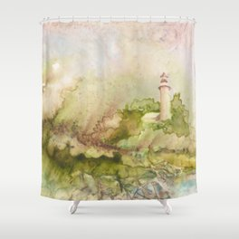 Summertime at Point Aux Barq Shower Curtain
