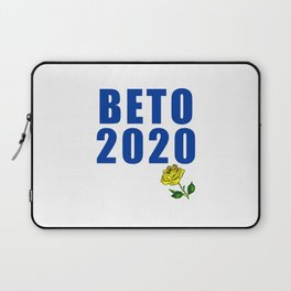 Beto for President with Yellow Rose Laptop Sleeve
