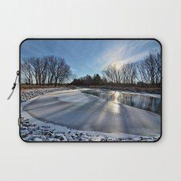 Long Shadows of Winter Laptop Sleeve