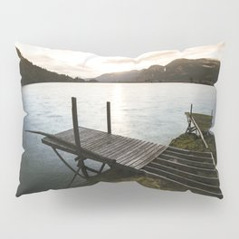 Salmon Sunrise Pillow Sham
