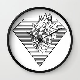 Super Heart Wall Clock