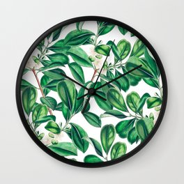 Botanica #society6 #decor #buyart Wall Clock