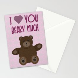 Beary Love Stationery Cards