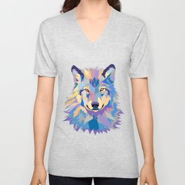 Wild Wolf Unisex V-Neck
