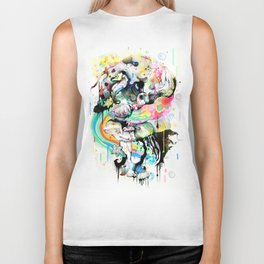 Ink Fight Colors Biker Tank