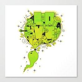 Love Doodle! Canvas Print