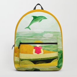 When dolphins are around 4 Backpack