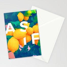 As If #society6 #decor #buyart Stationery Cards