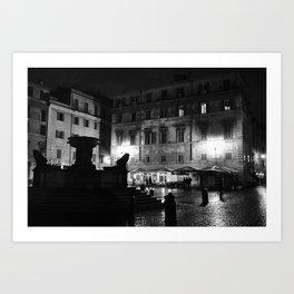 Santa Maria in Trastevere  Art Print