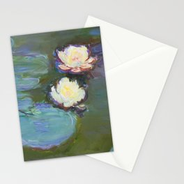 Nympheas by Claude Monet (1897–1898) - Fine Art Collection Stationery Cards