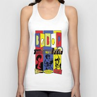 cowboy bebop Tank Tops featuring Bebop radio  by whatdavedoes