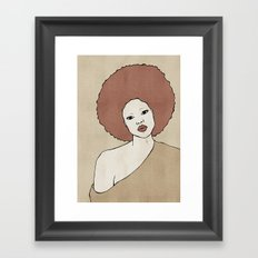 Female Three Framed Art Print