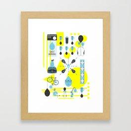 Sweet Morning Poster Framed Art Print