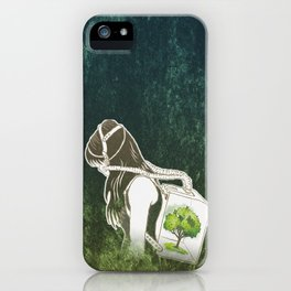 The Last Breath on Earth(SAVE THE FOREST)  iPhone Case