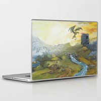 skyrim Laptop & iPad Skins featuring Skyrim by mixedlies