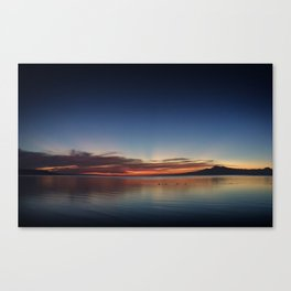End of Day 3 Canvas Print