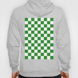 Checker (Forest Green/White) Hoody
