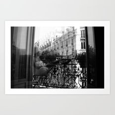 French Patio Art Print