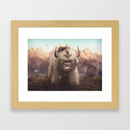 Appa in the Mountains Framed Art Print