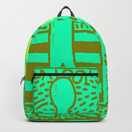 Pop-Art K. Allen USA 101 - Society6 Haring Replications - MOMA Untitled 1981Lost Capsules 78 Backpack