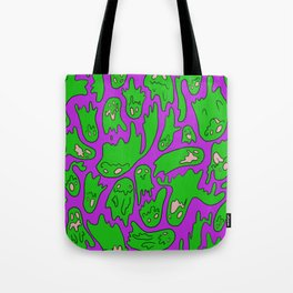 Green Ghosties Tote Bag
