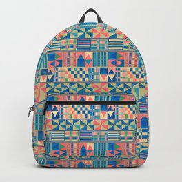 Kente Inspired 2 Backpack