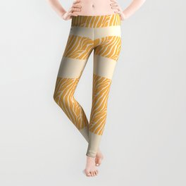 Marbled Pattern (sunglow yellow) Leggings